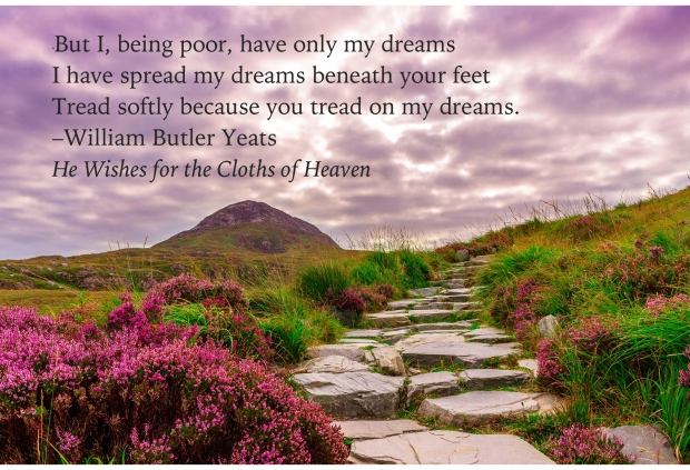 Yeats Dreams quote