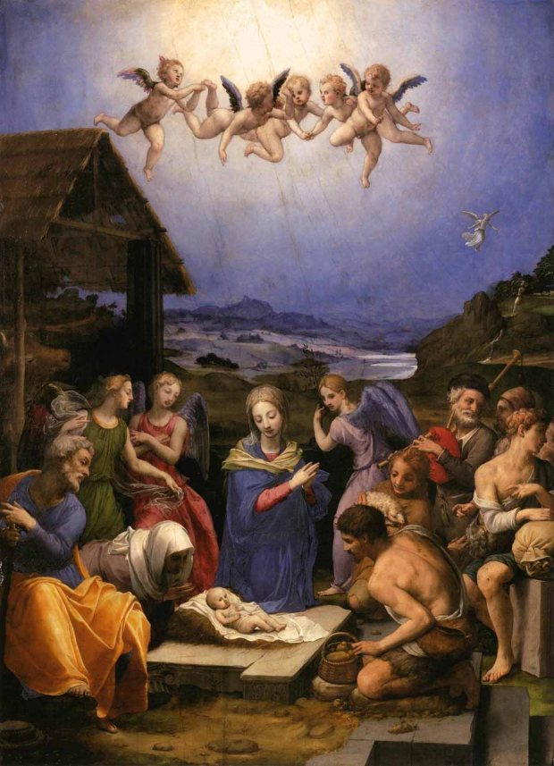 Worship_of_the_shepherds_by_bronzino