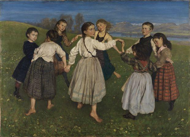 Hans_Thoma_-_Kinderreigen_(1872)